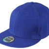 6 Panel Pro Cap Style James & Nicholson - royal royal