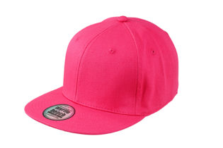 6 Panel Pro Cap Style James & Nicholson - red red