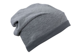 Heather Summer Beanie James & Nicholson - greyheather darkgrey