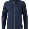 Ladies Zip Off Jacket James & Nicholson - navy royal