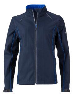 Ladies Zip Off Jacket James & Nicholson - navy royal