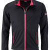 Men's Sports Softshell Jacket James & Nicholson