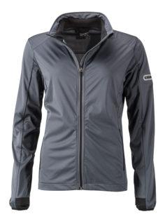 Ladies' Sports Softshell Jacket James & Nicholson - titan black