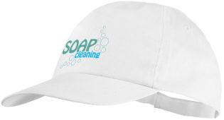 Basic Cotton Cap Bullet - weiß