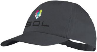 Basic Cotton Cap Bullet - grau