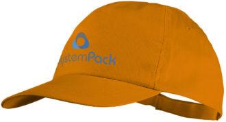 Basic Cotton Cap Bullet - orange