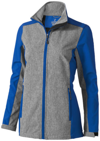 Vesper Softshell Damenjacke Elevate - blue heather