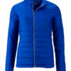 Ladies Padded Jacket James & Nicholson - royal