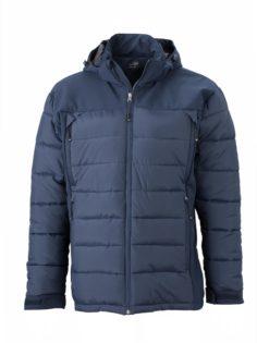 Mens Outdoor Hybrid Jacket James & Nicholson - navy