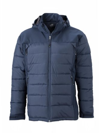 Mens Outdoor Hybrid Jacket James & Nicholson - navy