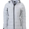 Ladies Outdoor Hybrid Jacket James & Nicholson - white