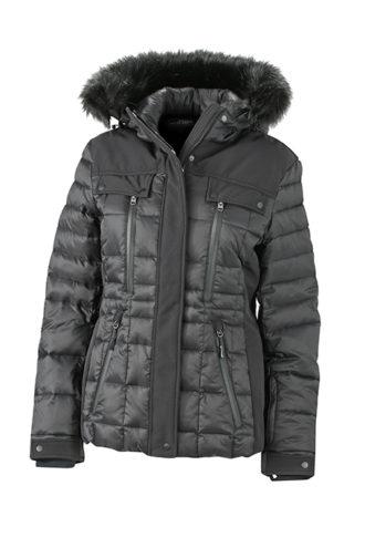 Ladies Wintersport Jacket James & Nicholson - black black