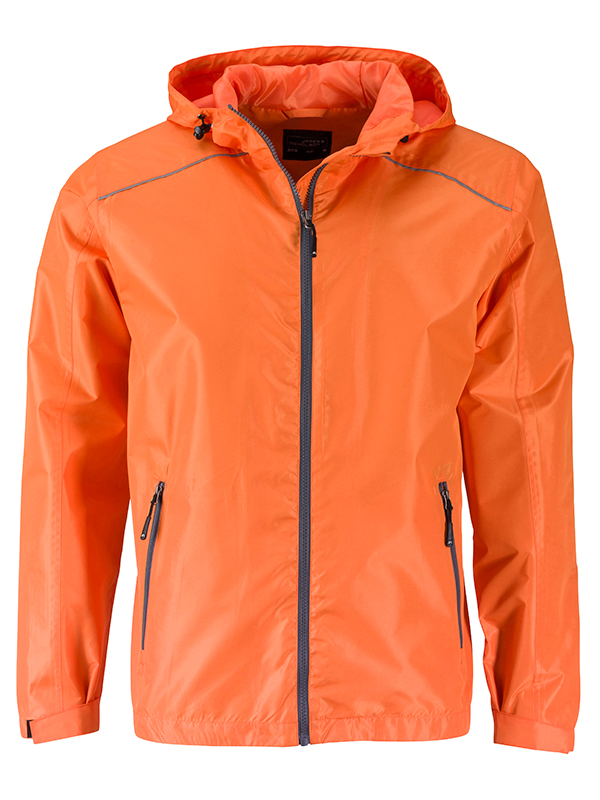 Mens Rain Jacket James & Nicholson