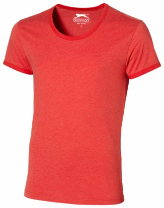 Werbeartikel T Shirt Slazenger Chip - heather red