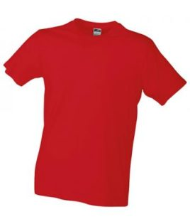 Werbemittel T-Shirt Mens Slim Fit-T - red