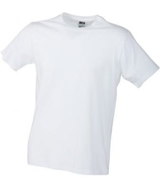 Werbemittel T-Shirt Mens Slim Fit-T - white