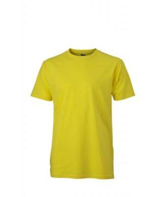 Werbemittel T-Shirt Mens Slim Fit-T - yellow