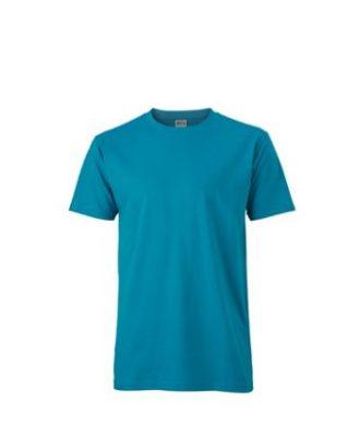 Werbemittel T-Shirt Mens Slim Fit-T - caribbeanblue