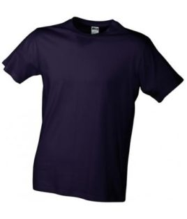 Werbemittel T-Shirt Mens Slim Fit-T US BASIC - aubergine