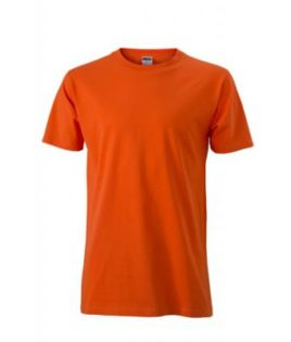 Werbemittel T-Shirt Mens Slim Fit-T - dark orange