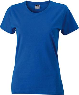 Werbeartikel Damen T-Shirt Ladies Slim Fit - royal