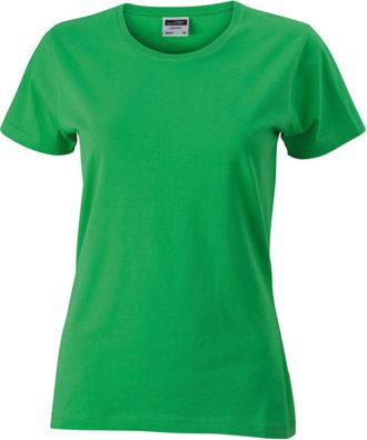Werbeartikel Damen T-Shirt Ladies Slim Fitngarm - frog