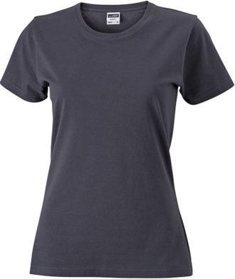 Werbeartikel Damen T-Shirt Ladies Slim Fit - graphite