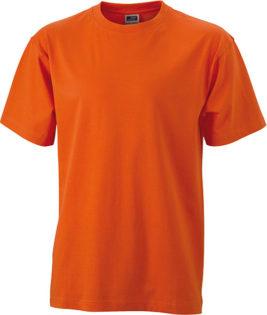 T Shirt Werbung auf Round T Heavy