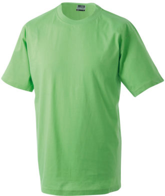 T-Shirt Werbung auf Round-T Heavy - lime green