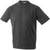 T-Shirt Werbung auf Round-T Heavy - graphite