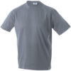T-Shirt Werbung auf Round-T Heavy - grey heather
