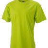 T Shirt Werbung auf Round T Heavy - acid yellow