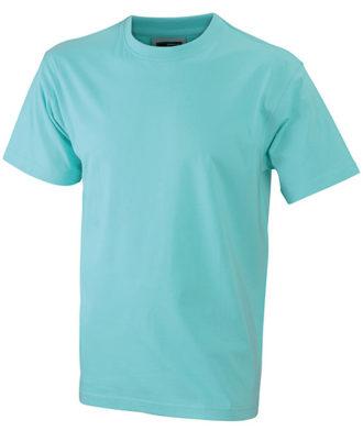 T Shirt Werbung auf Round T Heavy - mint