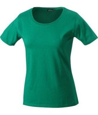 Ladies Basic T Shirt Damenshirt - irish green