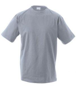 Kinder T-Shirt Junior Basic-T-Shirt US BASIC - grey heather
