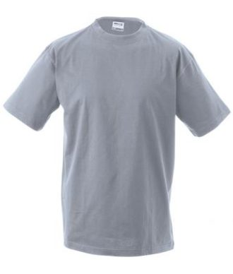 Kinder T-Shirt Junior Basic-T-Shirt US BASIC - grey heather