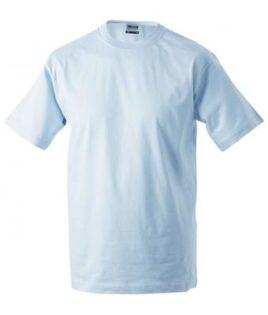 Kinder T-Shirt Junior Basic-T-Shirt US BASIC - light blue
