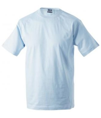 Kinder T-Shirt Junior Basic-T-Shirt US BASIC - light blue