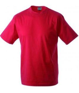 Kinder T-Shirt Junior Basic-T - red