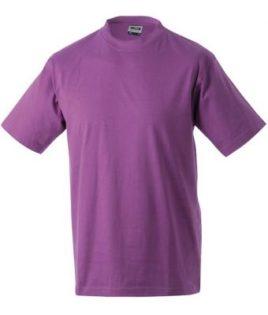 Kinder T-Shirt Junior Basic-T - purple