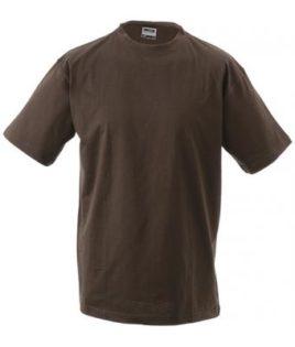 Kinder T-Shirt Junior Basic-T - brown