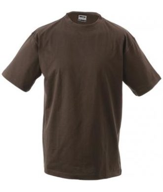Kinder T-Shirt Junior Basic-T - brown