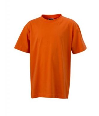 Kinder T-Shirt Junior Basic-T - dark orange