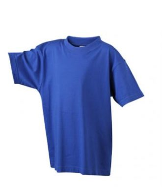 Kinder T-Shirt Junior Basic-T-Shirt US BASIC - dark royal
