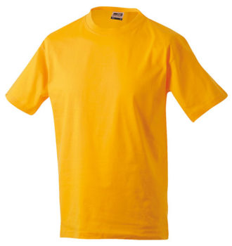 Kinder T-Shirt Junior Basic-T-Shirt US BASIC - gold yellow