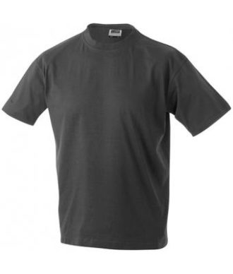 Kinder T-Shirt Junior Basic-T-Shirt US BASIC - graphite