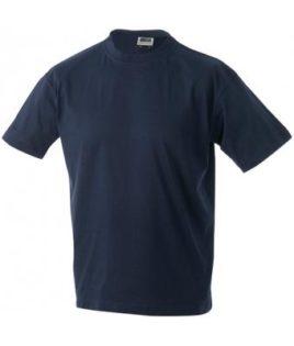 Kinder T-Shirt Junior Basic-T - navy