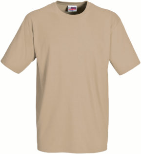 Werbeartikel T Shirt Round Medium - khaki