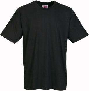 Werbeartikel T Shirt Round Medium - schwarz