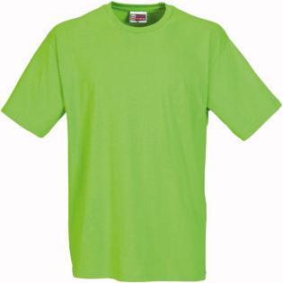 Werbeartikel T Shirt Round Medium - apfelgrün